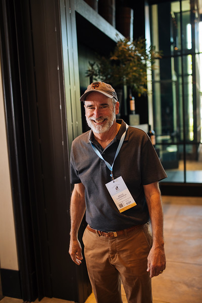 Bruce Cakebread of Cakebread Cellars at the 2019 Napa Valley Barrel Auction