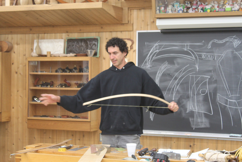 Bending Wood & Sculpture with Rolland