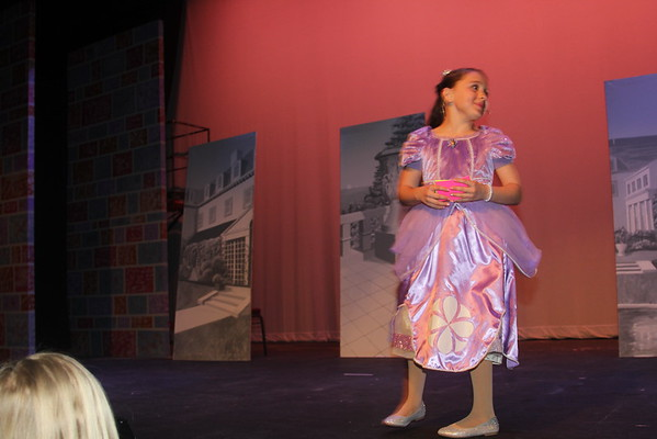 Princesses and Center Stage Production