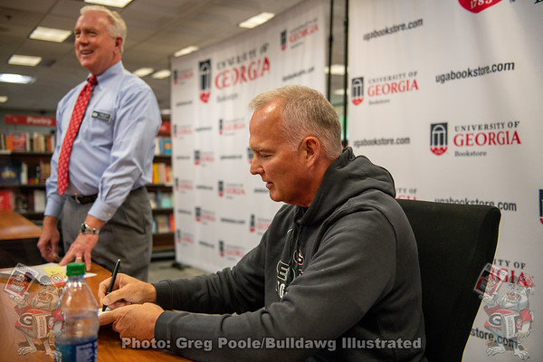 Mark Richt Book Signing at the UGA Bookstore