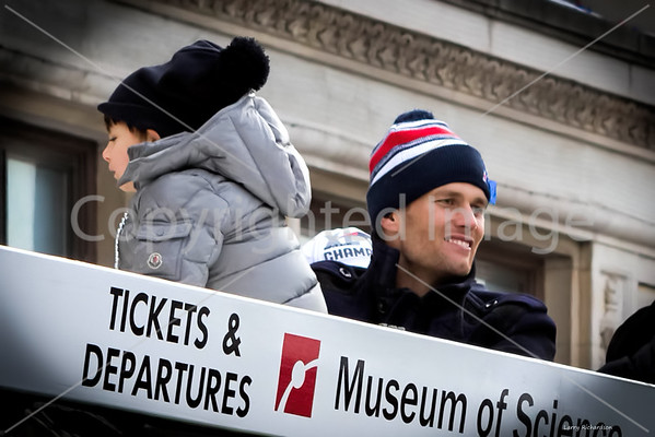 New England Patriots Super Bowl Rolling Rally