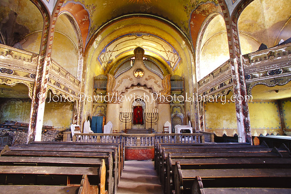 SERBIA, Subotica. The Jakab and Komor Square Synagogue, aka The Great Synagogue. (8.2004)