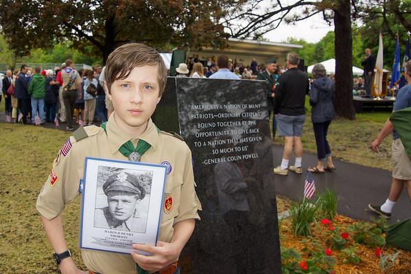 Memorial Day Dedication Ceremony 5-25-15