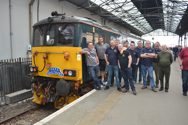 Bo'ness Diesel group Kyle railtour 2018.