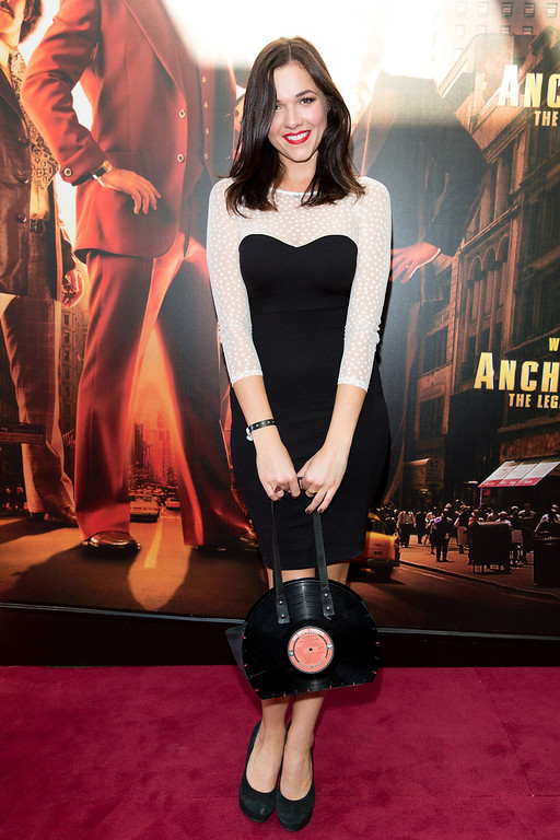 ". Demi Harman arrives at the ""Anchorman 2: The Legend Continues\"" Australian premiere on November 24, 2013 in Sydney, Australia.  (Photo by Caroline McCredie/Getty Images for Paramount Pictures International)"