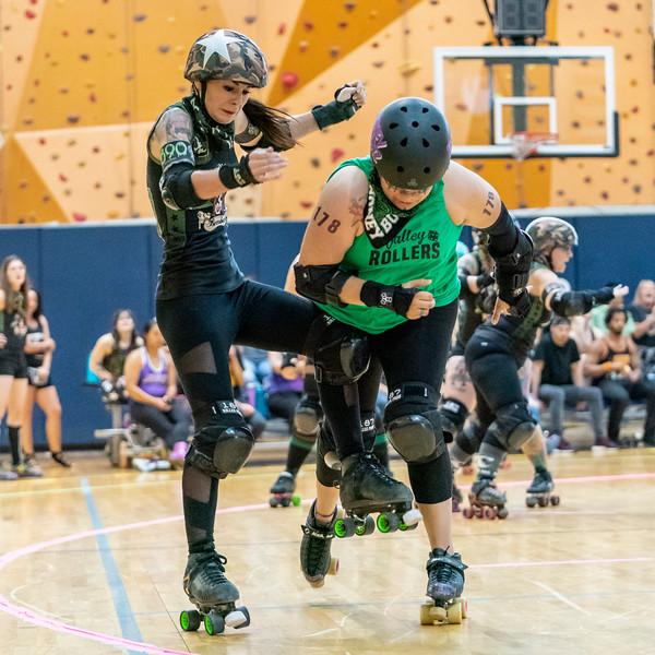 5/11/2019 AZRD Valley Rollers vs Casa Grande Big City Bombers ©Keith Bielat