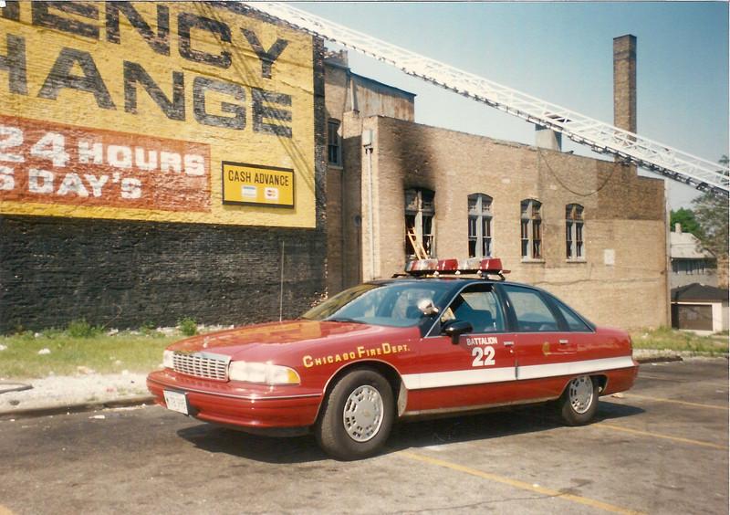 X Battalion 22 A-308 1991 Chevrolet Caprice