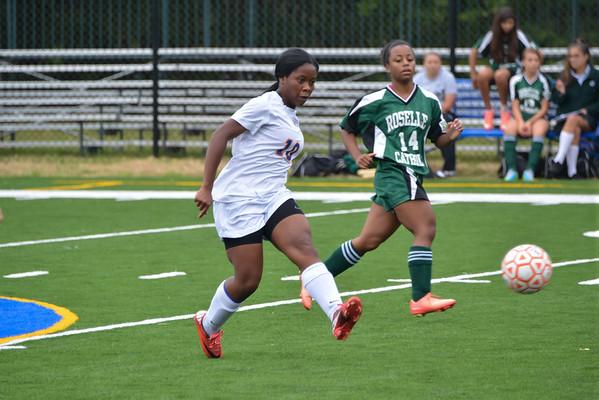 2013-09-27 Dayton Girls Varsity Soccer vs Roselle Catholic #1 of 5