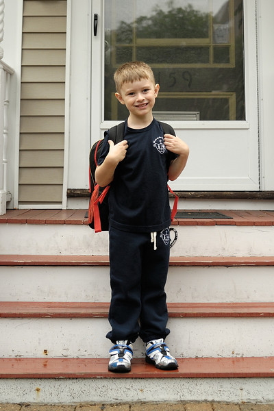2013.09.05 - Thomas' First Day of School