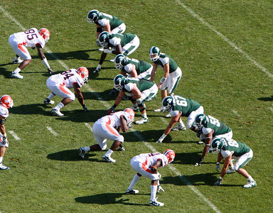 Illinois at MSU Football 2010