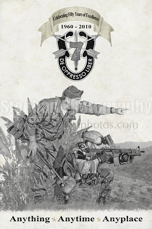 7th SFG (A) 50th Anniversary Commemorative Print