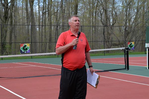 '19 Chardon Tennis Senior Night