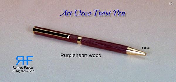 Elegant Wood Pens