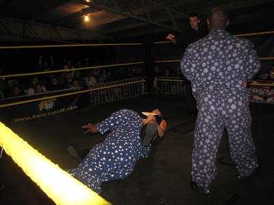 New World Wrestling Extreme Blood & Bones 2  October 1, 2011
