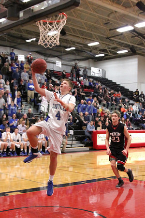 Boys Basketball, Pekin vs Danville, SEISC Shootout at SCC 2/14/2014