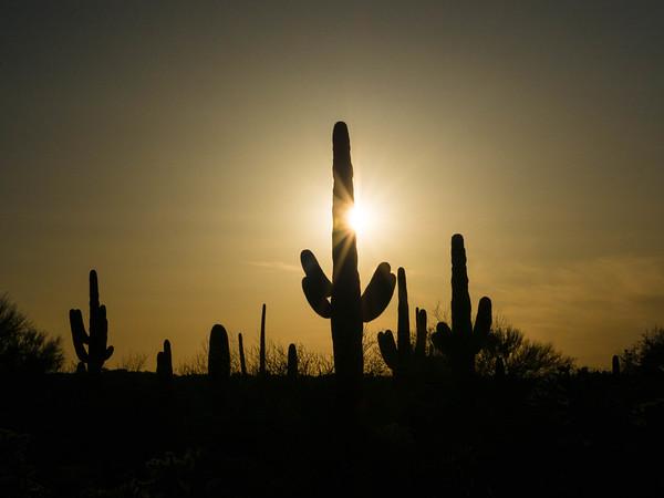 Arizona Desert and sky 3-2021