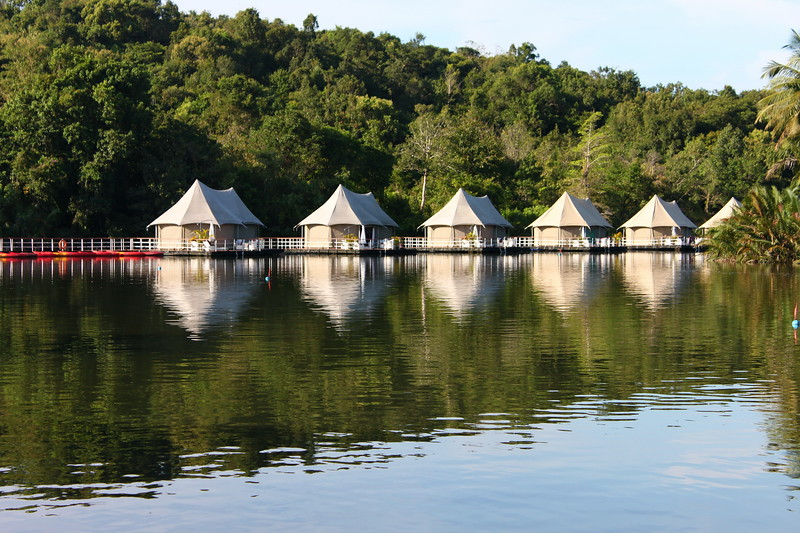 4 Rivers has 12 tents and is located just outside the town of Tatai