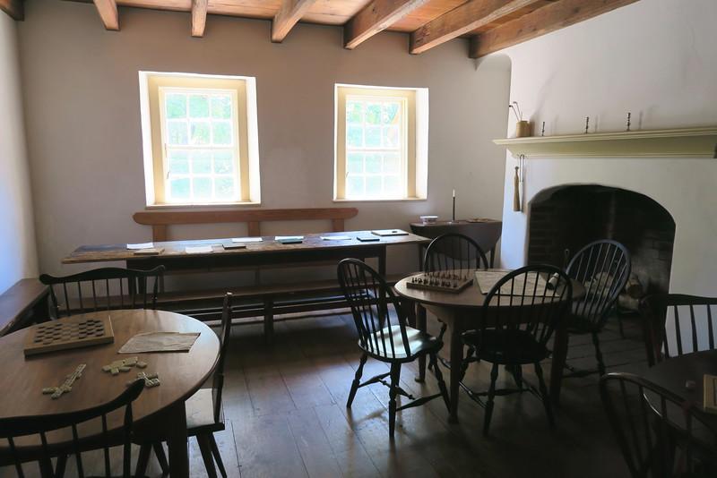 "Salem Tavern (ca. 1784) -- ""Guest Room"""