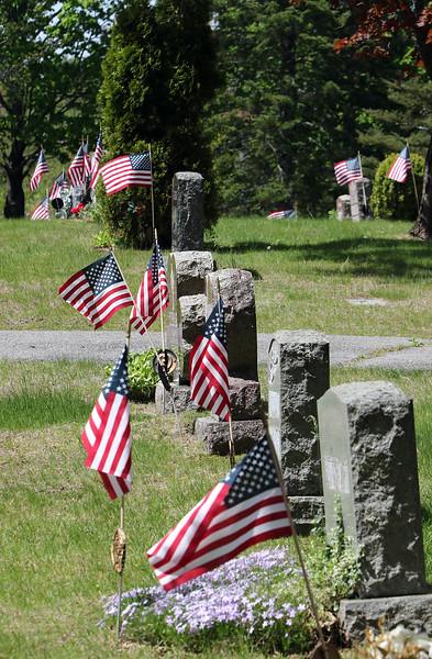 Pre-Memorial Day flags 051920