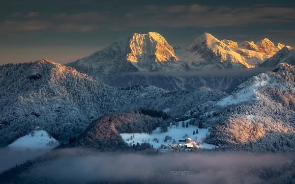 Slovenian winter
