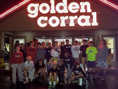 Golden Corral Dinner