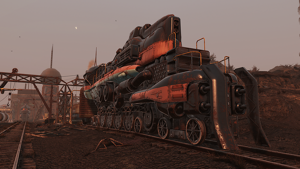 Fallout 76 Trains Yards