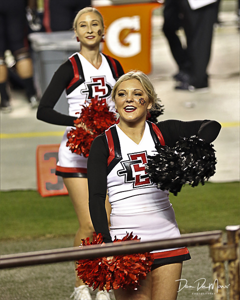 2017-11-18 Alex SDSU Cheer vs Nevada