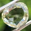 3.46ct Portrait Rose Cut Trapezoid Diamond GIA UV VVS2 16