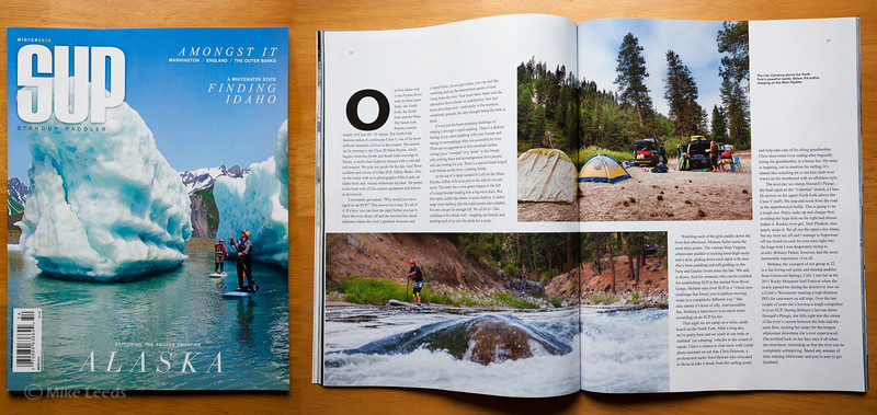 SUP Magazine Winter Issue 2012, (all photos right)