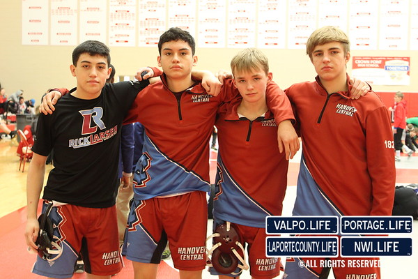 WRESTLING Semi-State Crown Point Group 2020