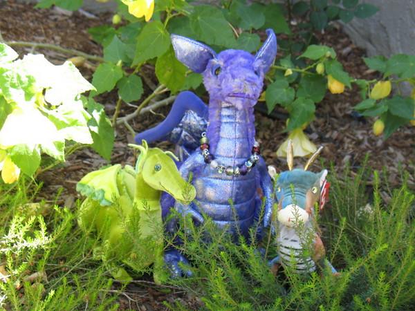 Dragons with Prism bracelet
