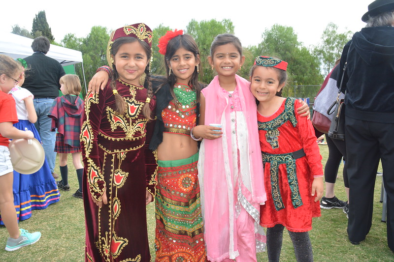 Amira Shamsi, Sapna Pradhan, Adrishya Kumar, Anais Escudero.JPG