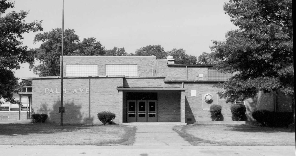 . Historic photo provided by Jim Smith <br> Palm Avenue School opened in 1953 in Lorain.