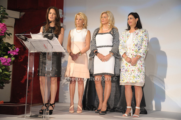 Ellen Crown, Michele Sweetwood, Michelle Swarzman, Elyse Newhouse photo by Rob Rich/SocietyAllure.com © 2014 robwayne1@aol.com 516-676-3939