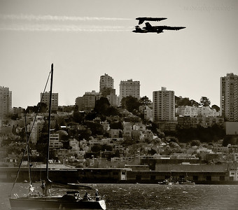 San Francisco Blue Angels Fleetweek