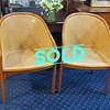 Vintage Landmark Cane Chairs