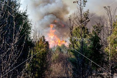 20180412 - Unincorporated Lebanon - Large Brush Fire