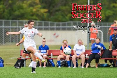 2015 Girls JV Soccer - HSE