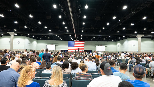 Naturalization Oath Ceremony Los Angeles July 23, 2019