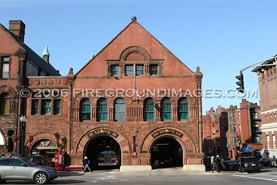 Boston, MA Firehouses