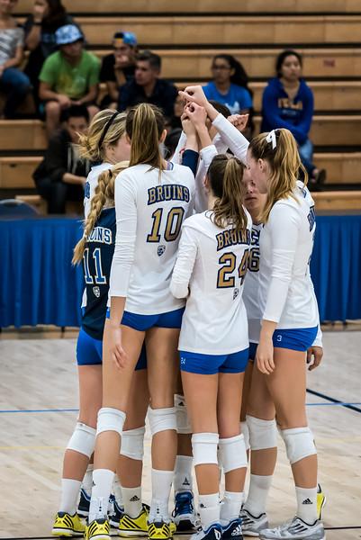 UCLA Women's Volleyball vs. Washington State @ Collins Court, Wooden Center