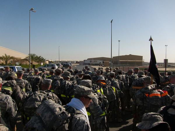Camp Arifjan Bataan Death March Memorial