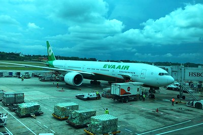 Eva Air Business Class Singapore-Taiwan-New York