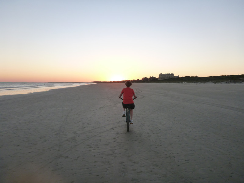 great sand for bicycling