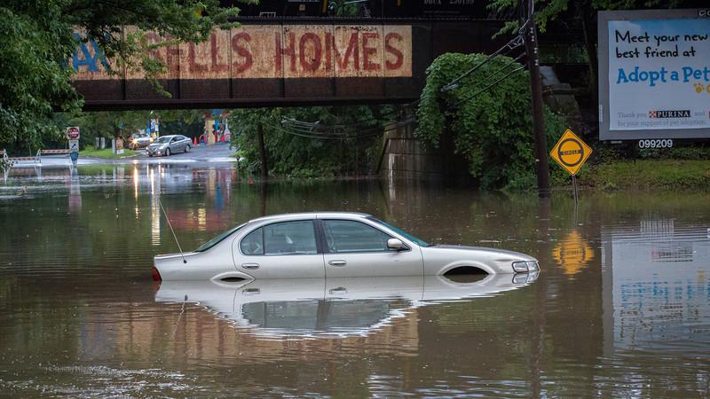 Evergreen Circle Flood