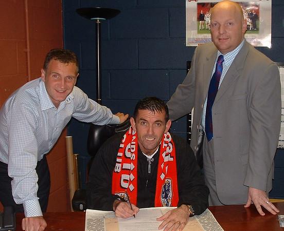 Owen Coyle signing