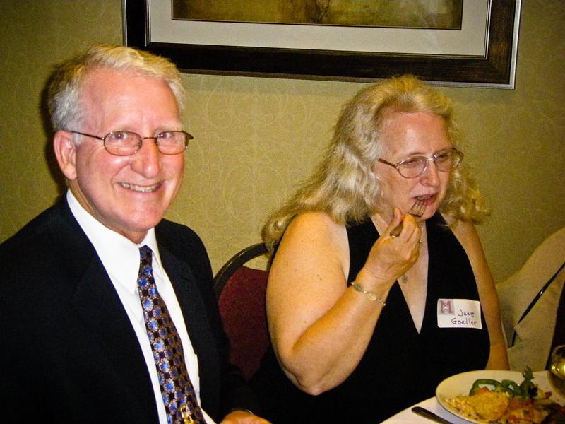 Tom Goeller, wife Goeller