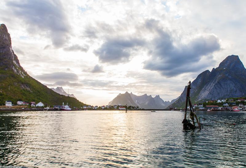 Summer Senset over the Fjords