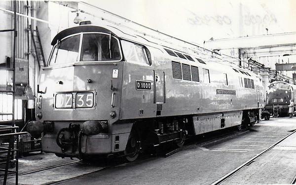 BRITISH RAILWAYS PRE-TOPS DIESEL LOCOMOTIVES