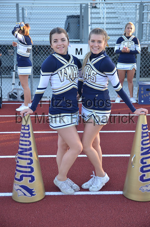 Varsity Cheer FB vs. Cathedral Catholic